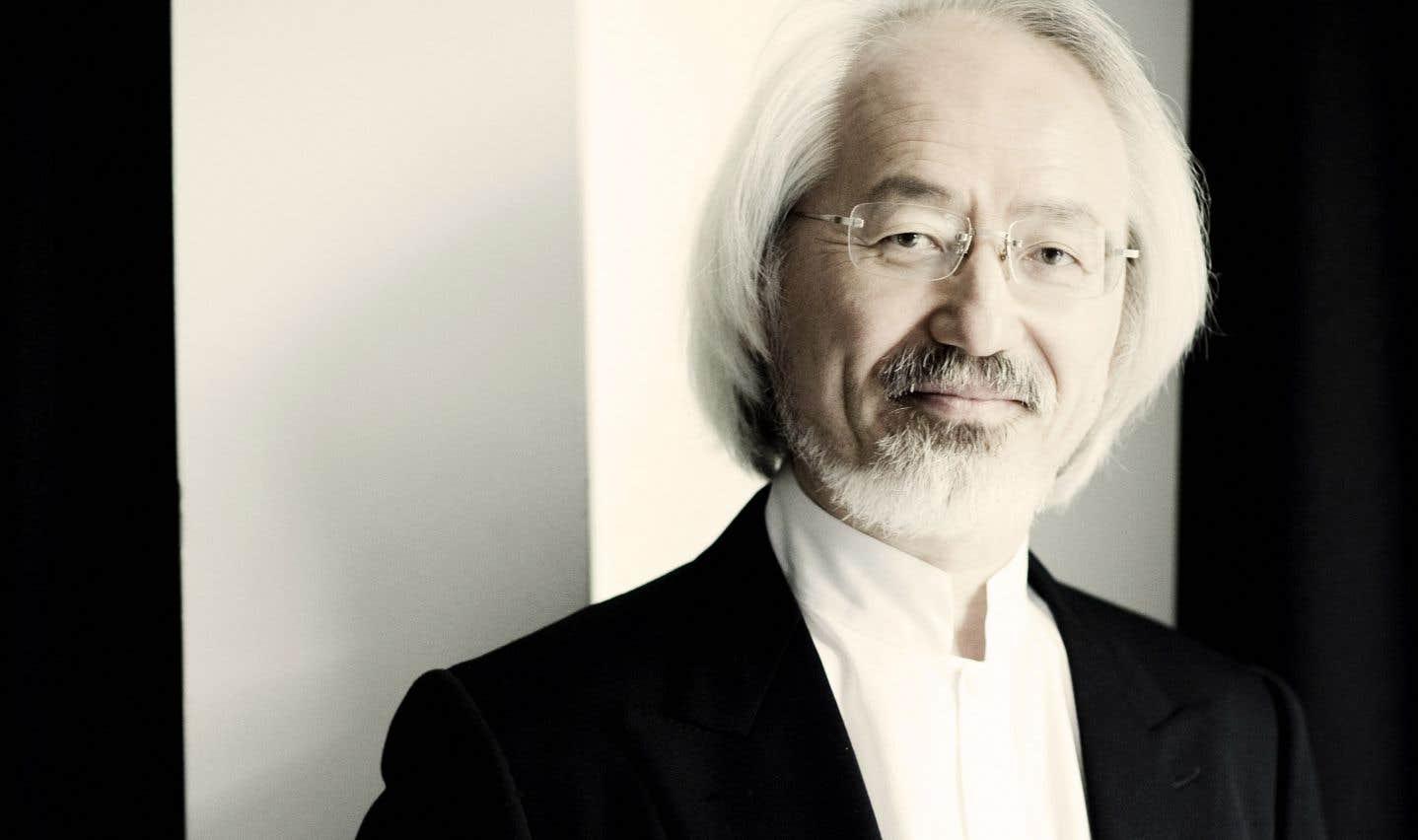 Le chef d'orchestre japonais Masaaki Suzuki