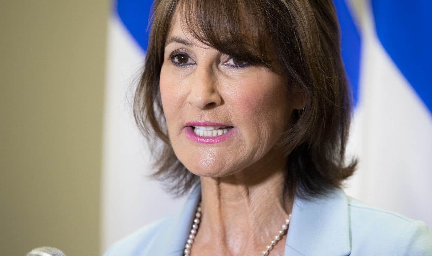La ministre responsable des Relations avec les Québécois d'expression anglaise, Kathleen Weil, en août dernier