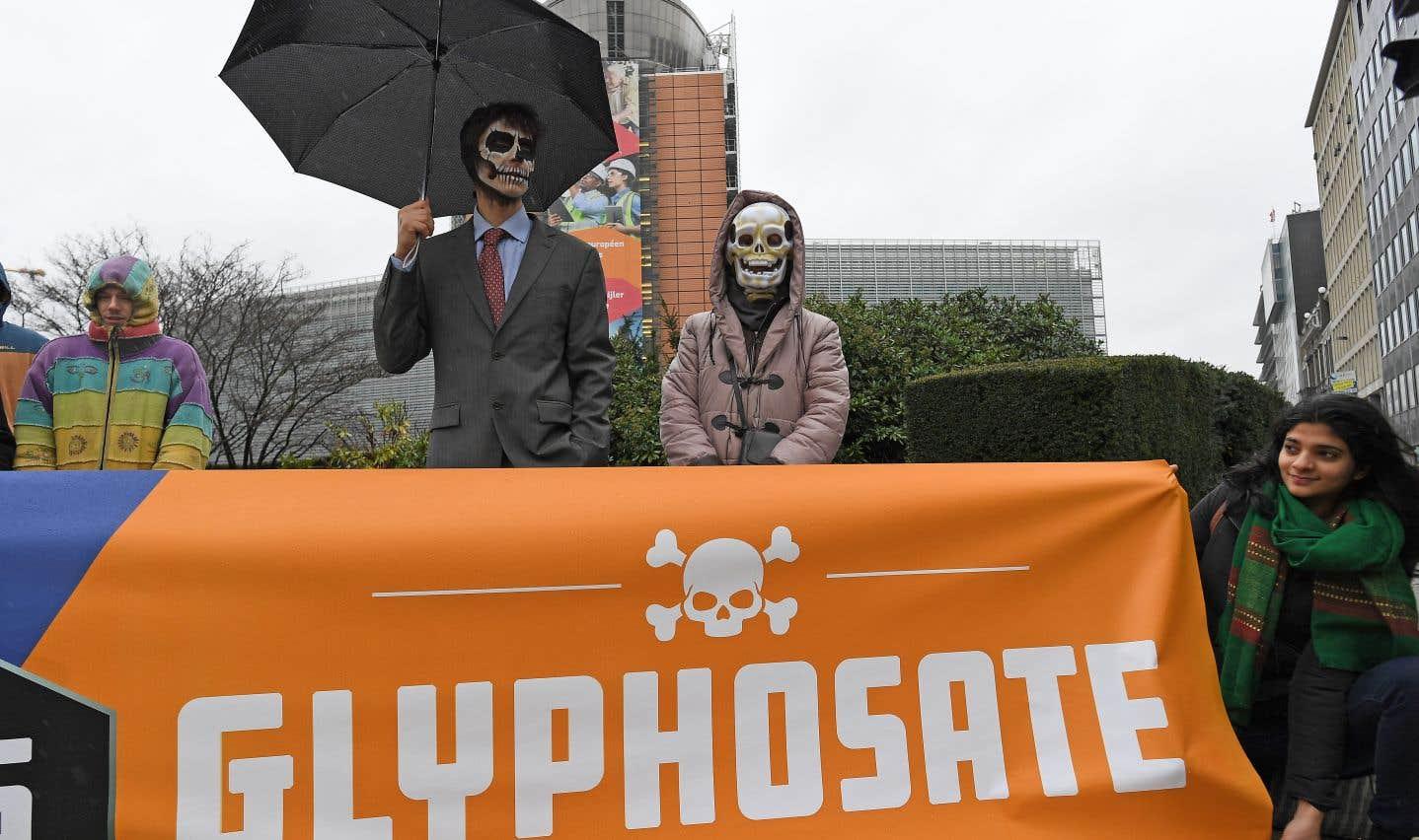 Glyphosate autorisé: colère chez les écologistes