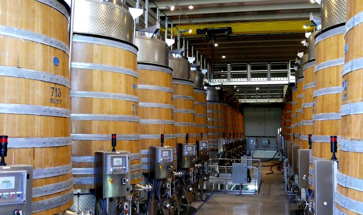 Les technologies de pointe contribuent-elles au potentiel de garde des grands vins (ici chez Banfi en Toscane)?