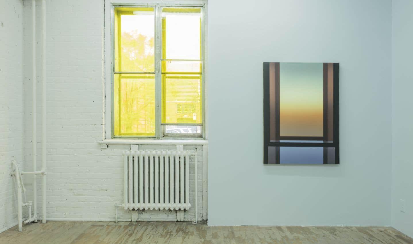 Vue partielle de l'exposition «Big Chill» de Pierre Dorion à la galerie soon.tw