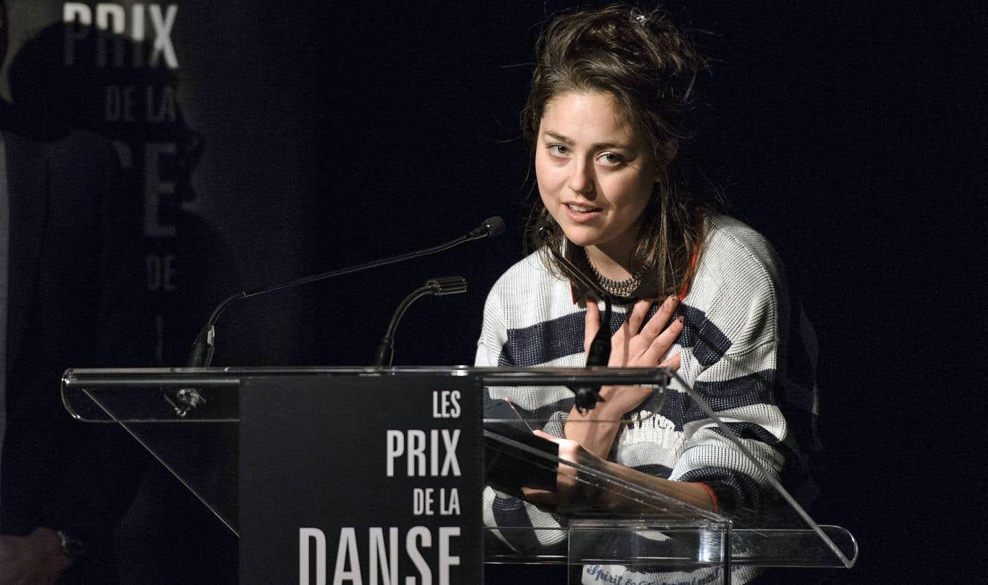 Le prix Découverte honorait cette année l'interprète Paige Culley.