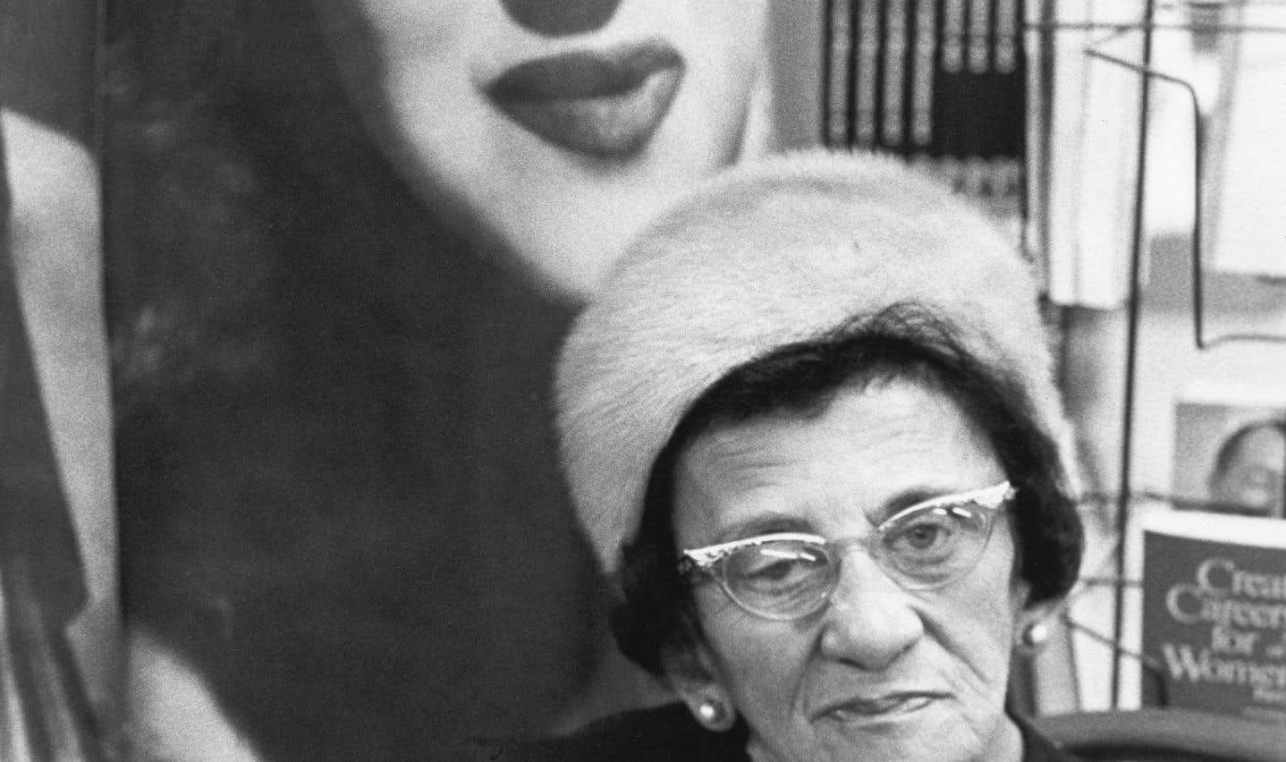 Vernissage de l'exposition de Susan Caine au Mansfield Book Mart, Gabor Szilasi, Montréal, janvier 1969