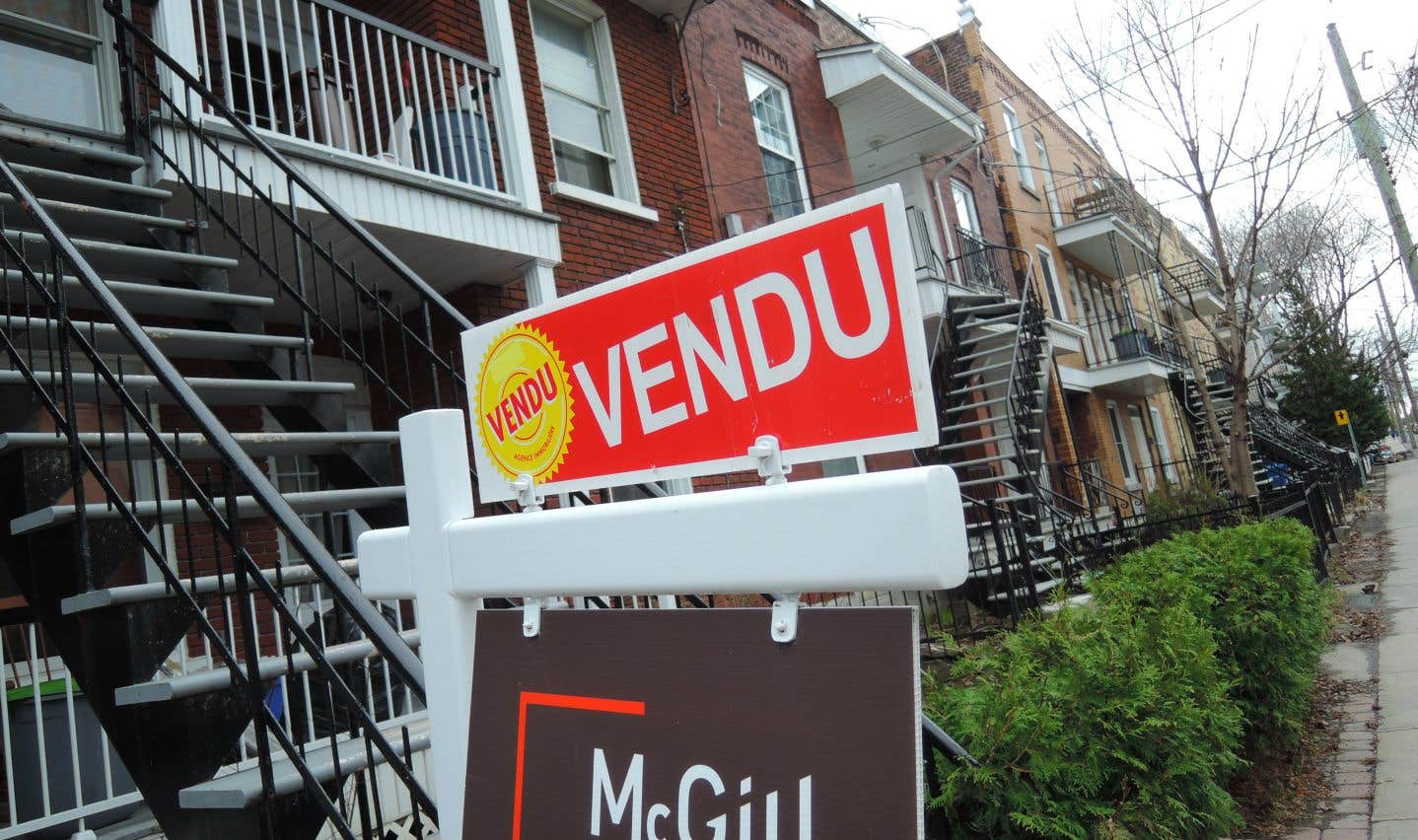Le prix moyen des maisons vendues au Canada en octobre était de 505937$, en hausse de 5% par rapport à l'an dernier.
