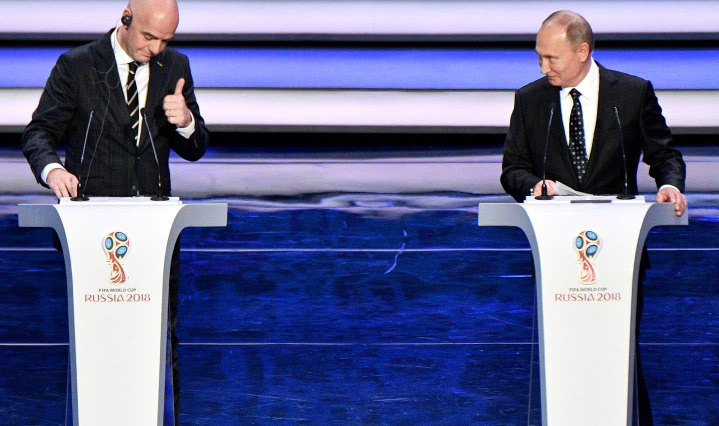 Mondial de soccer 2018: la «fête sportive grandiose» de Vladimir Poutine