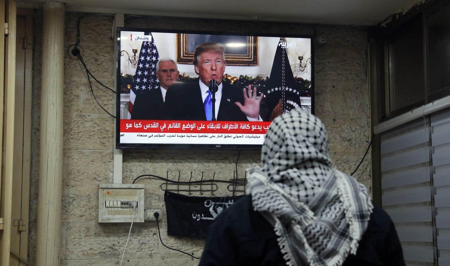 Donald Trump reconnaît Jérusalem comme capitale d'Israël