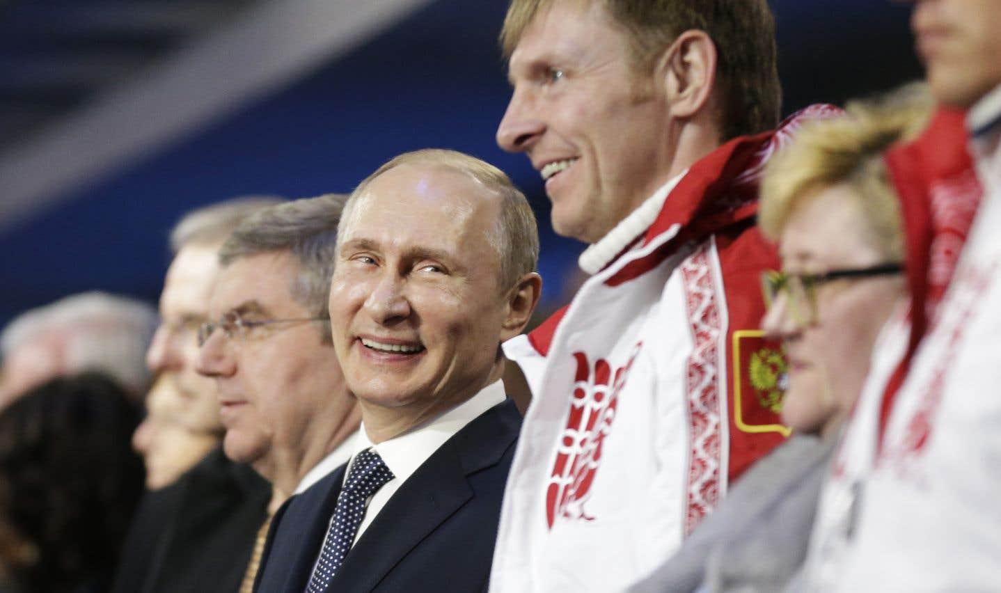 Poutine permettra aux athlètes russes de participer aux JO de Pyeongchang