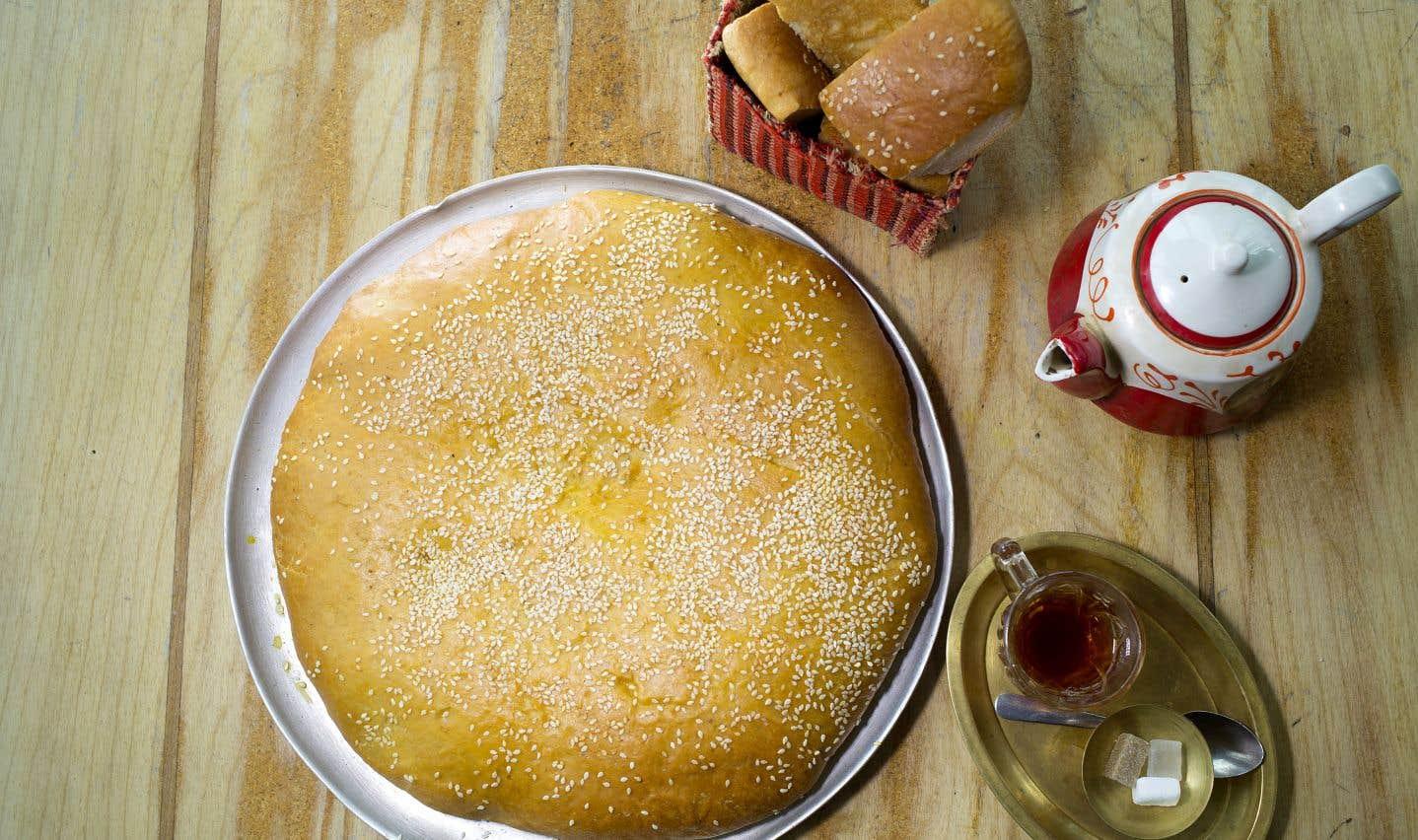 Le shirmal,un pain de déjeuner traditionnel en Iran