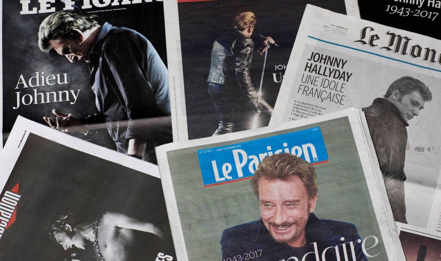 France: un hommage à grand déploiement pour Johnny