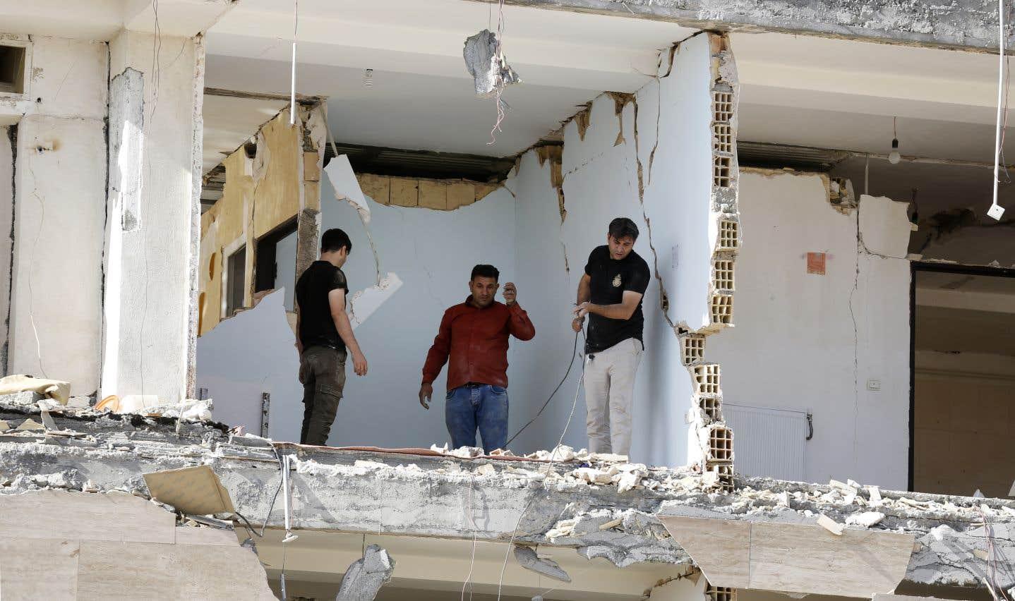 Cette même zone avait été frappée le 12 novembre par un séisme de magnitude 7,3.
