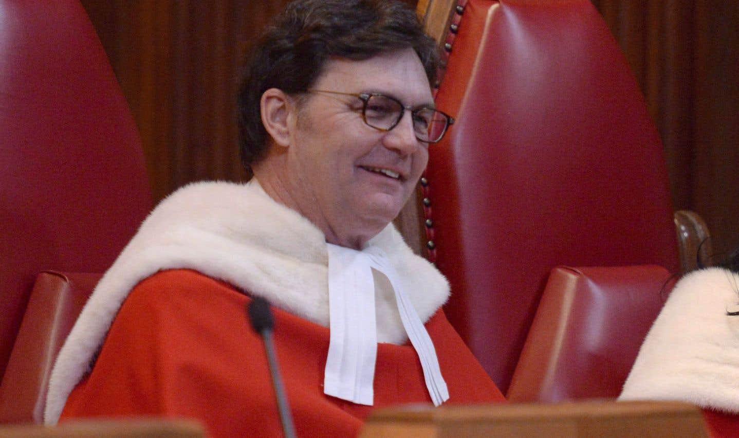 Richard Wagner nommé juge en chef de la Cour suprême