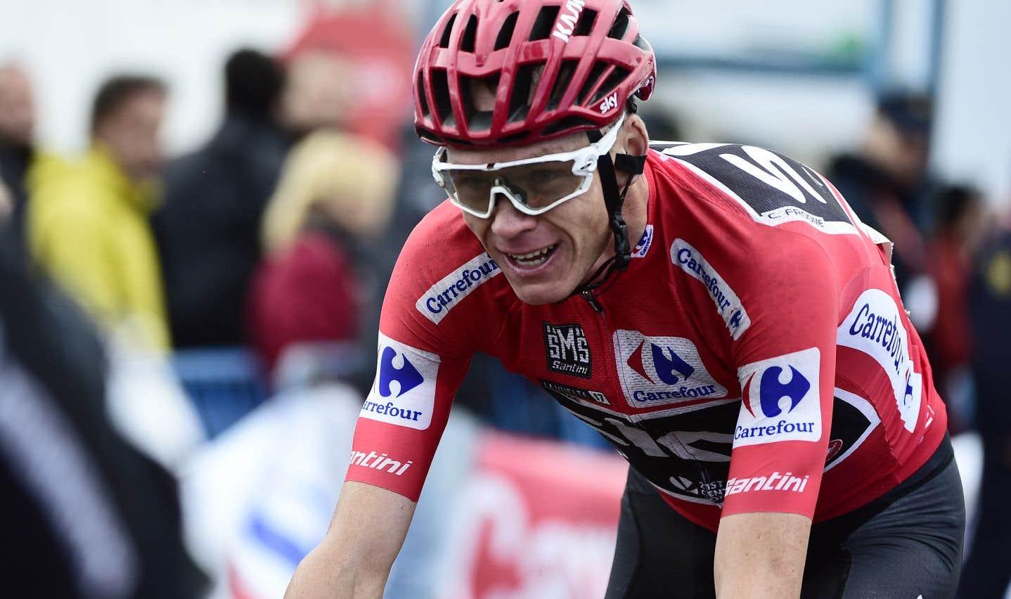 Chris Froome a échoué un test antidopage lors du Tour d'Espagne