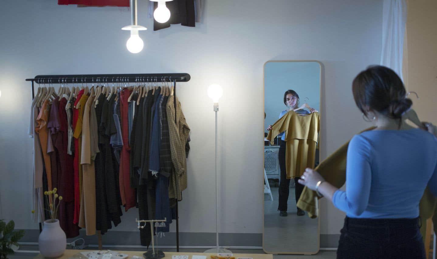 Comparativement aux États-Unis ou encore à l'Europe, le marché de la location de vêtements reste assez jeune au Québec.