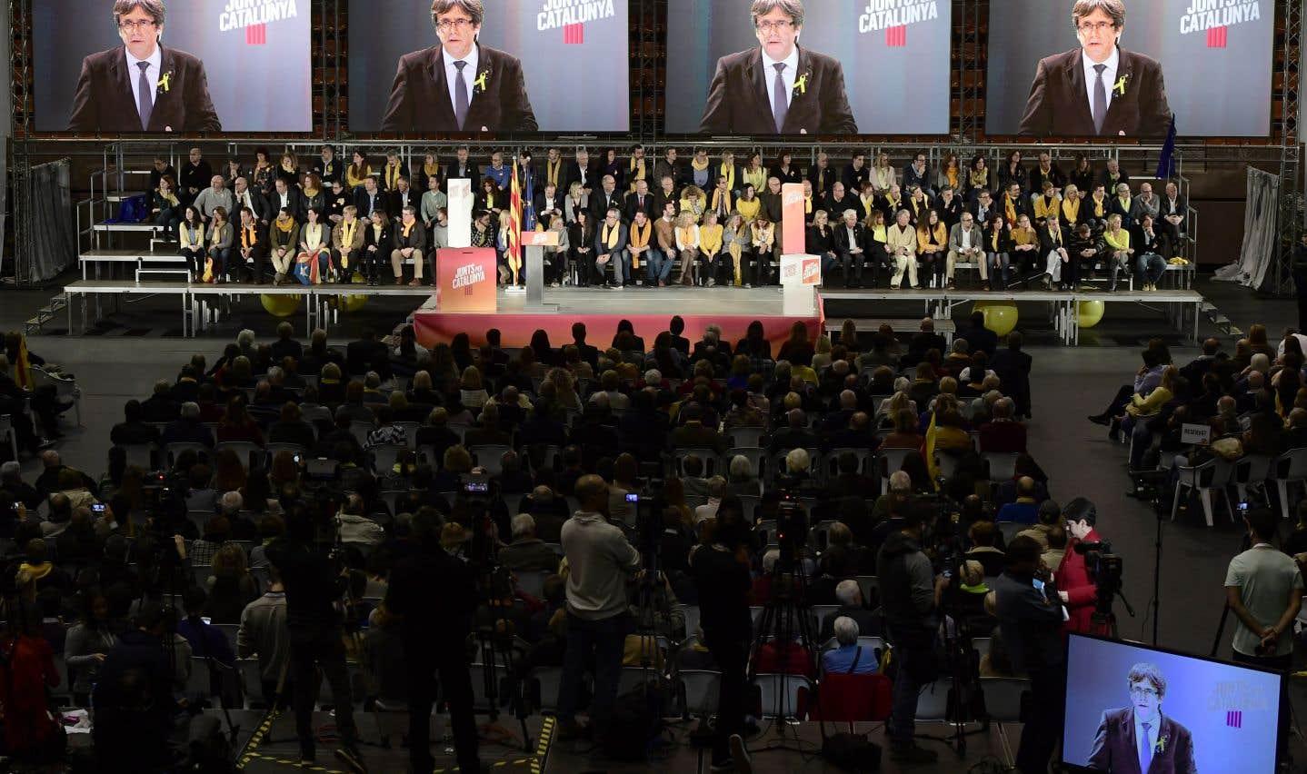 En Catalogne, les militants séparatistes gardent la foi