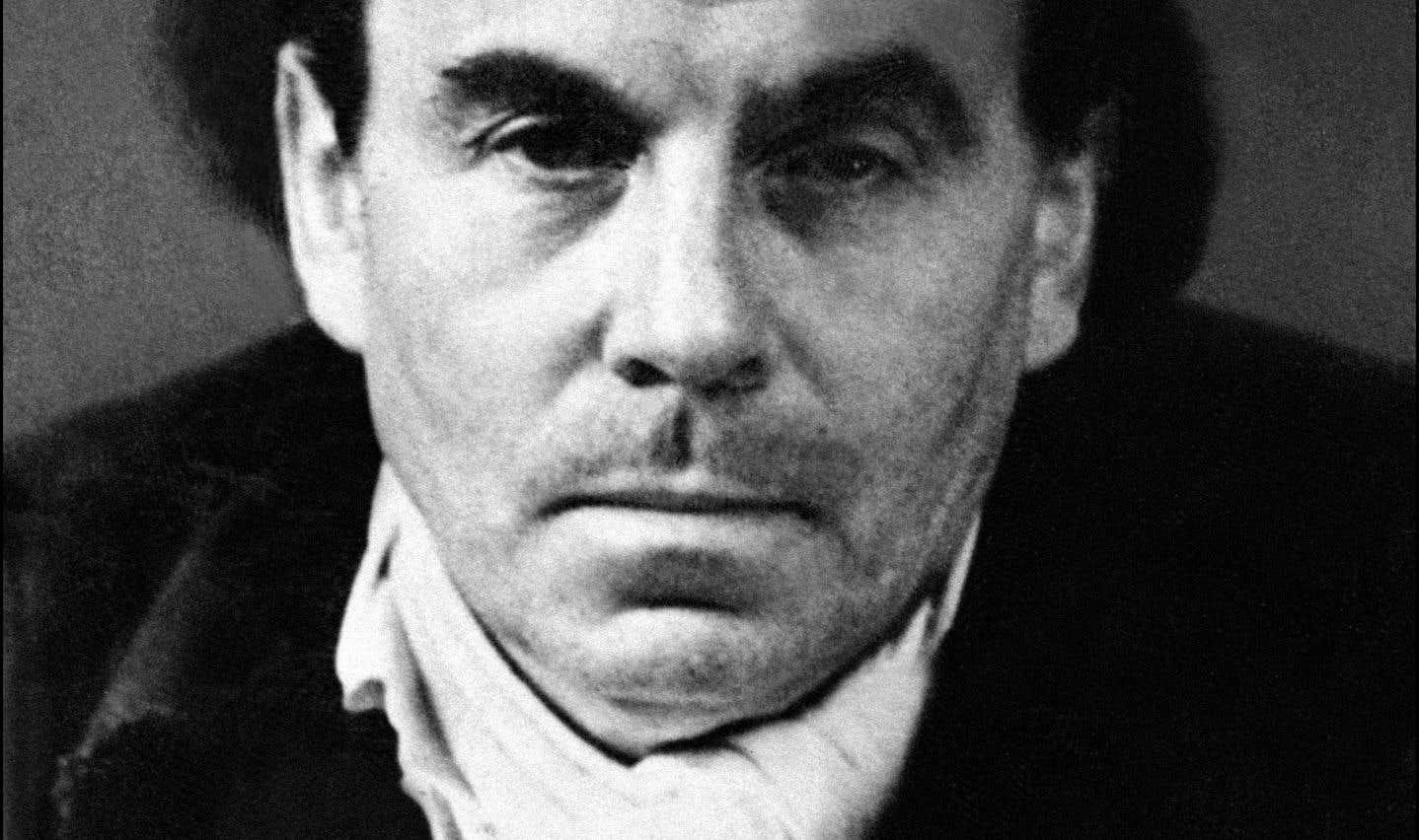 Portrait daté de 1951 de l'écrivain français Louis-Ferdinand Céline