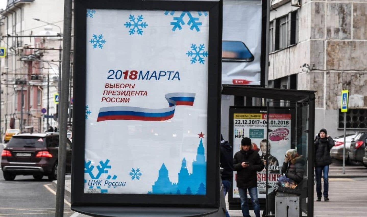 La campagne présidentielle est lancée en Russie