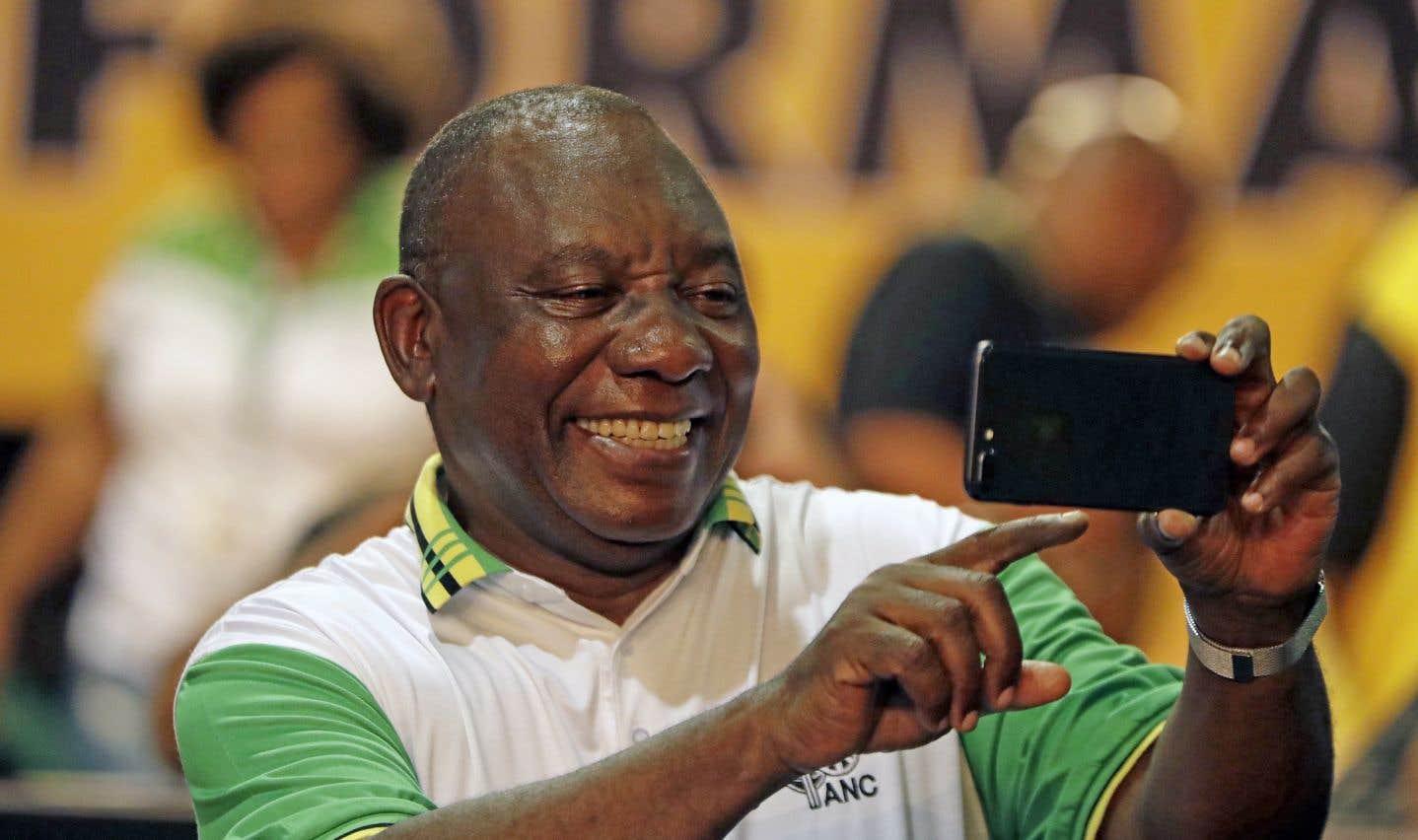 Afrique du Sud:Cyril Ramaphosa prend la tête de l'ANC