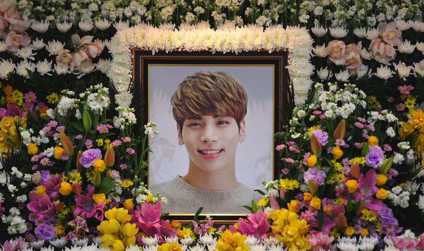 Suicide d'une vedette de la pop coréenne