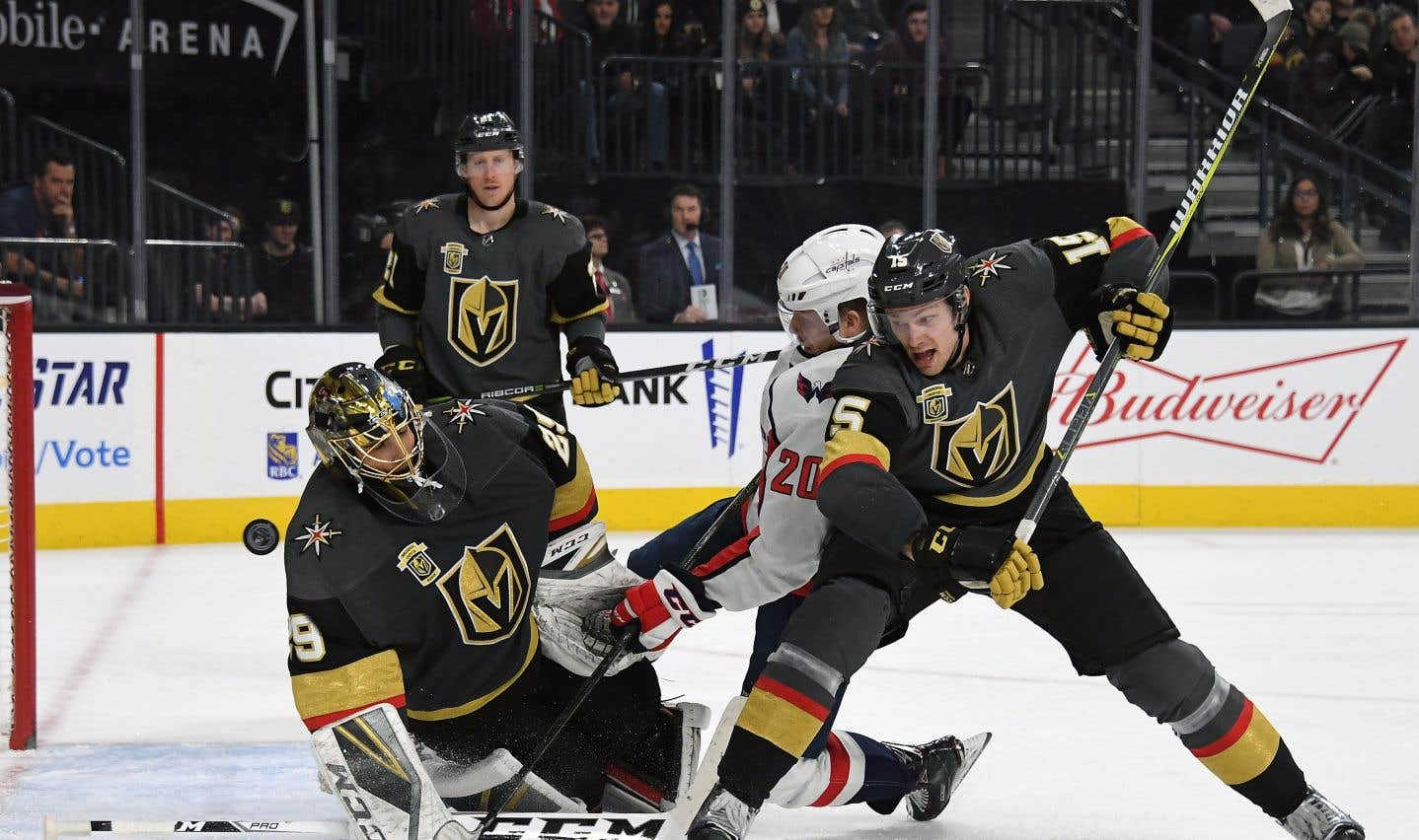 En un an, les Golden Knights de Vegas  ont épaté la LNH