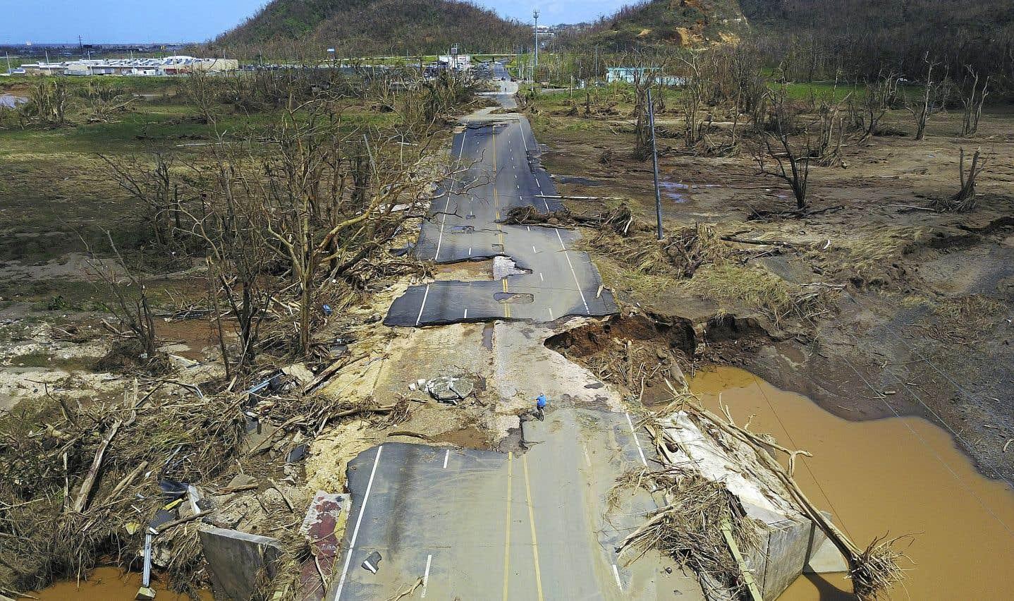 L'ouragan Maria a causé de lourds dommages à Porto Rico.