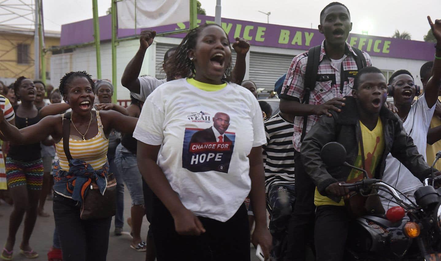 Liberia: Monrovia exulte après la victoire de la légende du foot George Weah