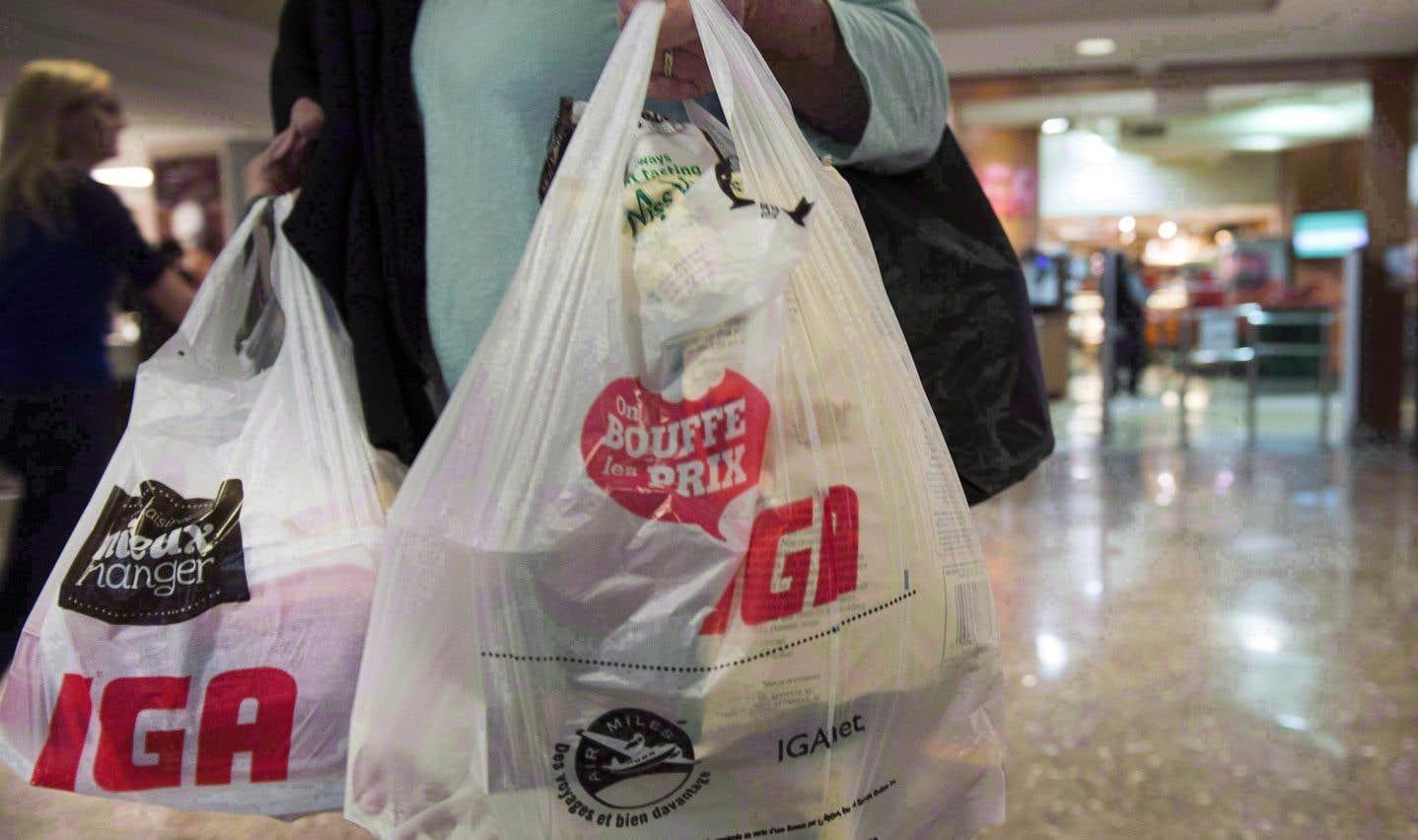 Désormais, les clients devront utiliser des sacs de plus de 50 microns, des sacs de papier, ou bien des sacs réutilisables.
