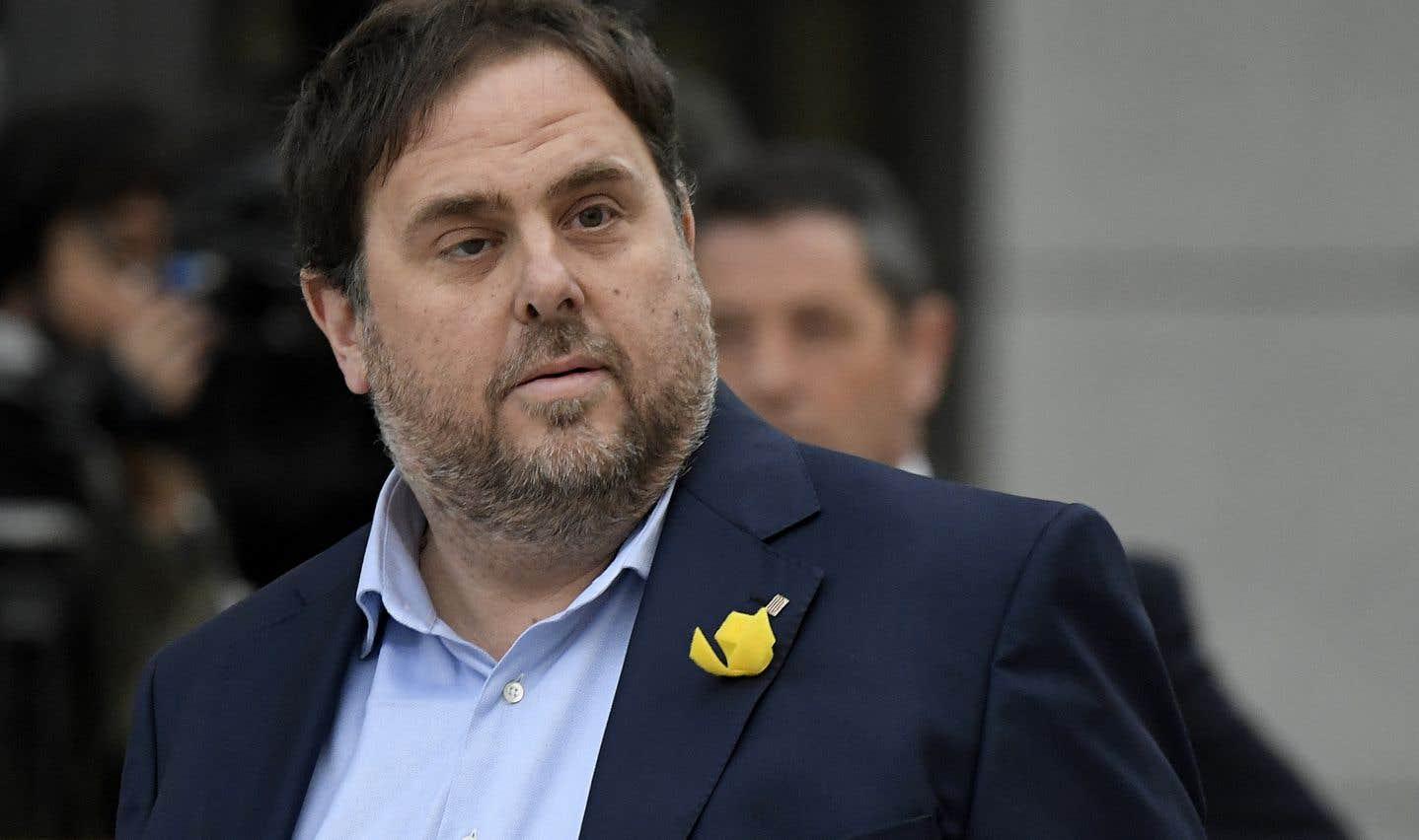 L'ex-vice-président indépendantiste de la Catalogne, Oriol Junqueras