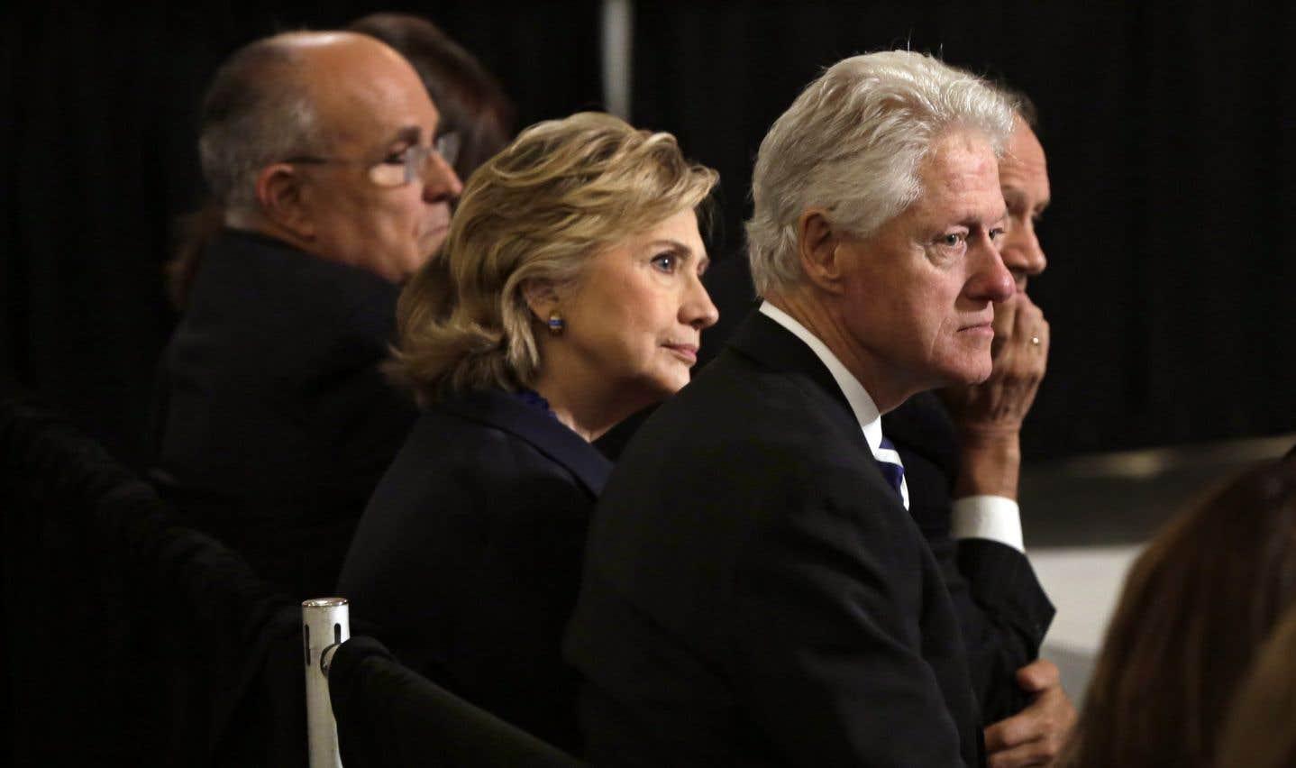 L'ex-secrétaire d'État Hillary Clinton et son mari, Bill Clinton