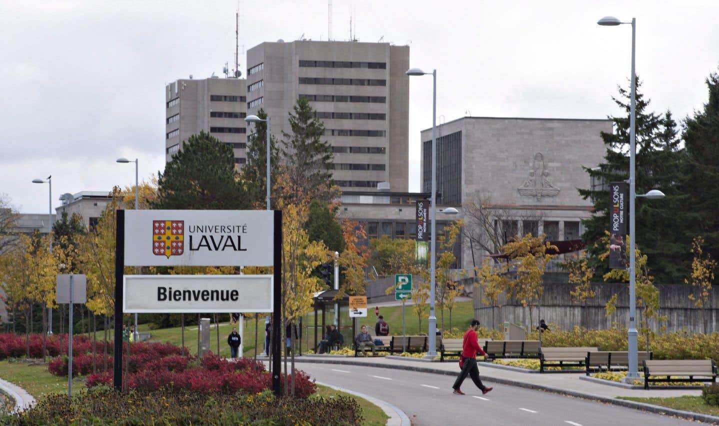 L'Université Laval, en octobre 2016