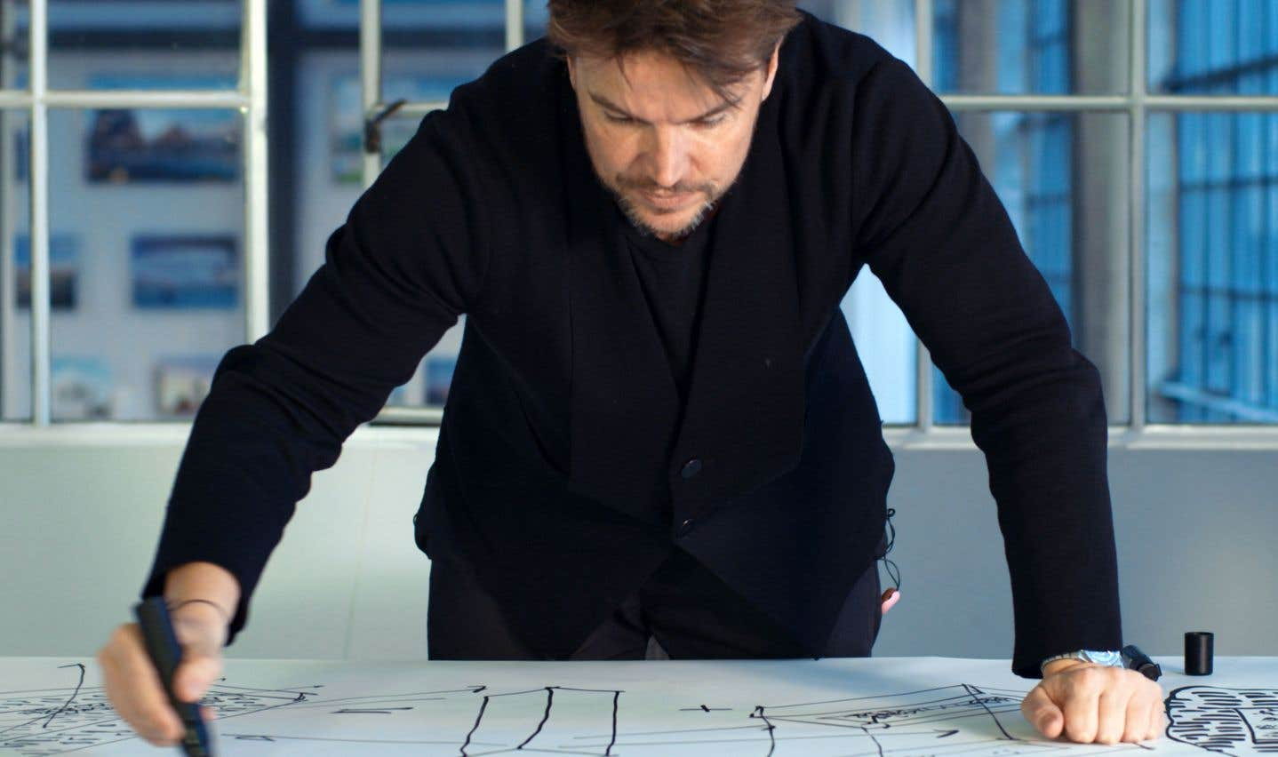 «Big Time» suit l'architecte danois Bjarke Ingels de Copenhague à New York.