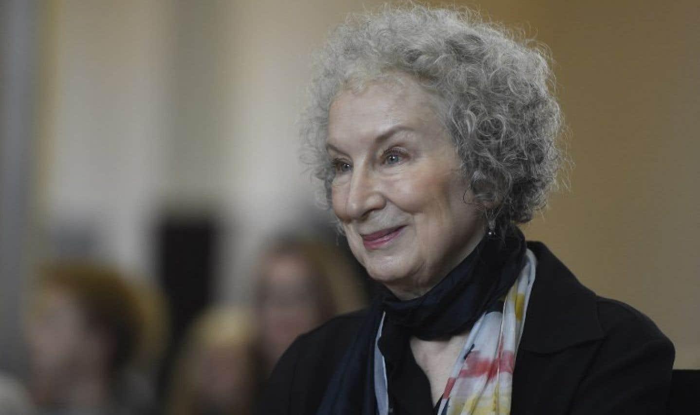La romancière canadienne Margaret Atwood
