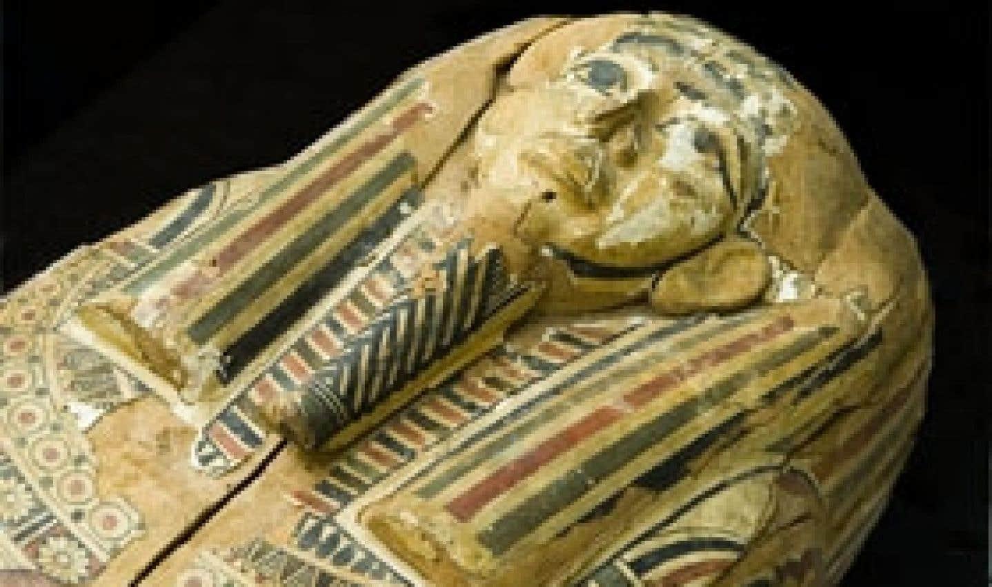 La momie de l'UQAM restaurée