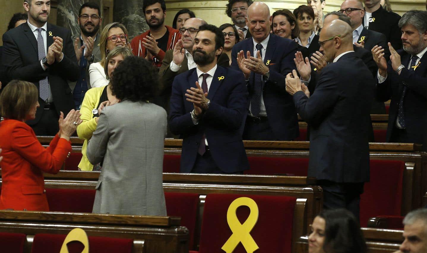 Catalogne: le bras de fer avec Madrid reprend