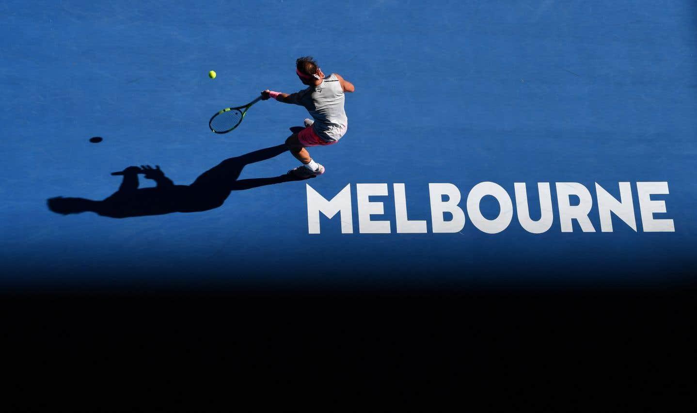Rafael Nadal, à Melbourne, mercredi