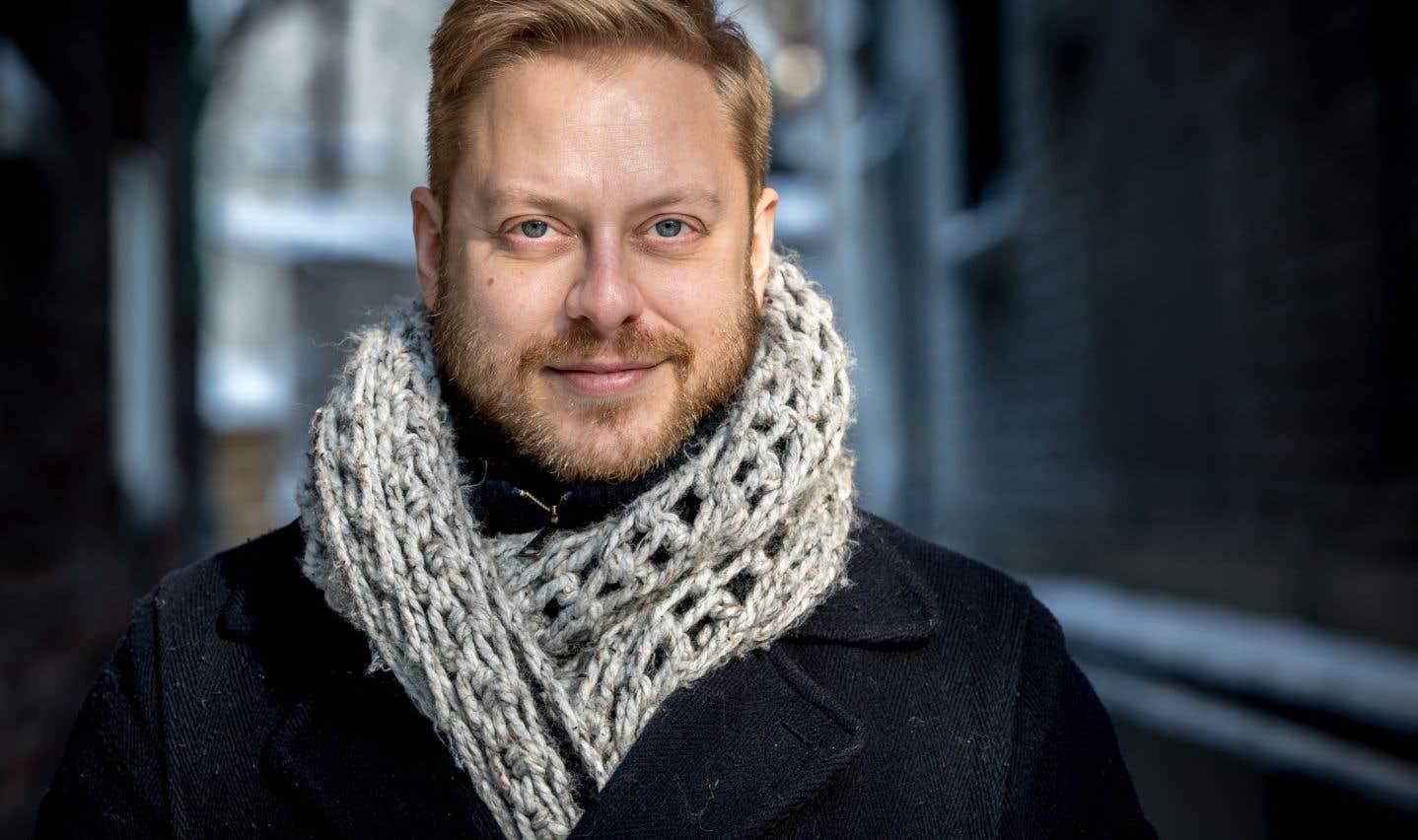 Guillaume Lambert fait ses débuts en tant que réalisateur avec «Les scènes fortuites», tout en y tenant le rôle principal.