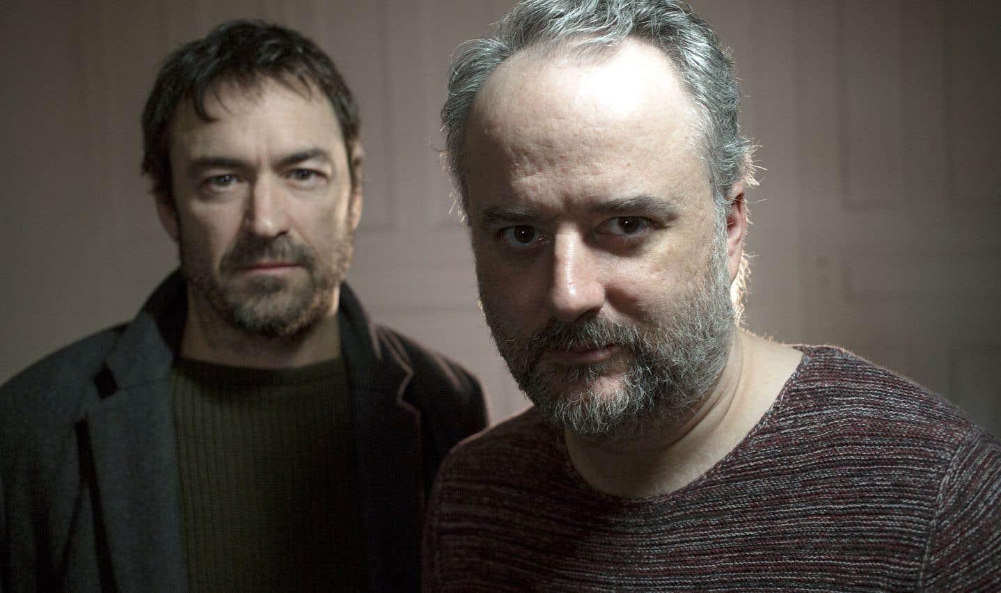 Sébastien Ricard et Hugues Frenette dans l'arène de Koltès avec «Dans la solitude des champs de coton»