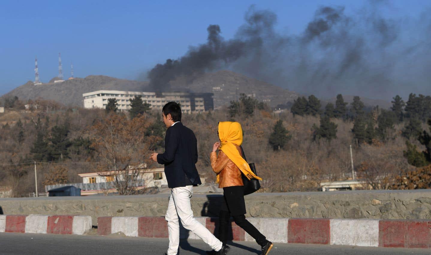 Attentat à Kaboul: les assaillants «cherchaient les étrangers»