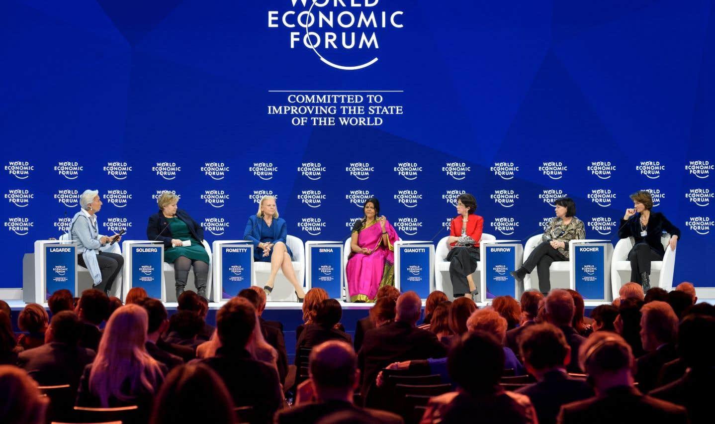 À Davos, les femmes qui cachent la forêt des «mâles alpha»