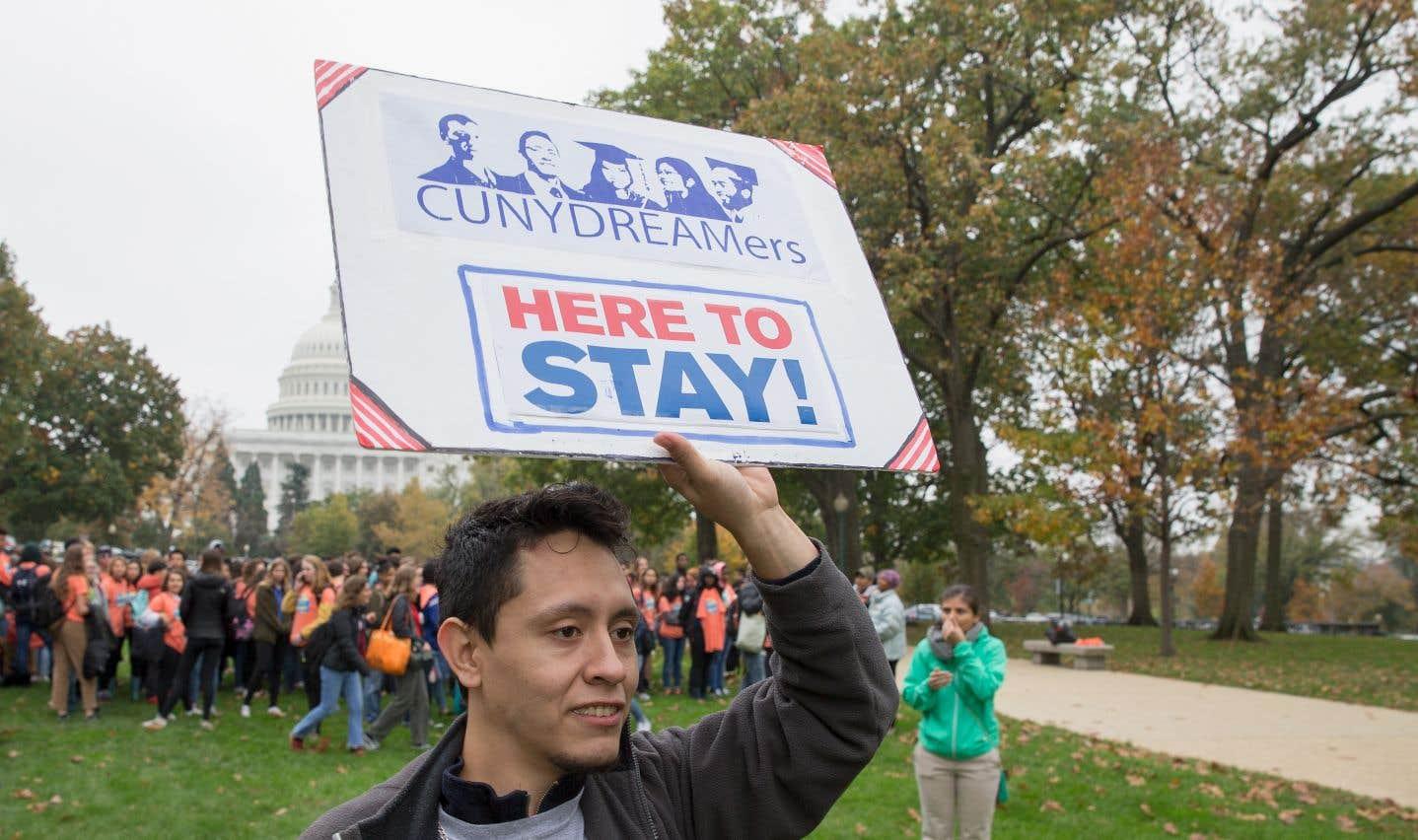 Trump esquisse un compromis sur l'immigration