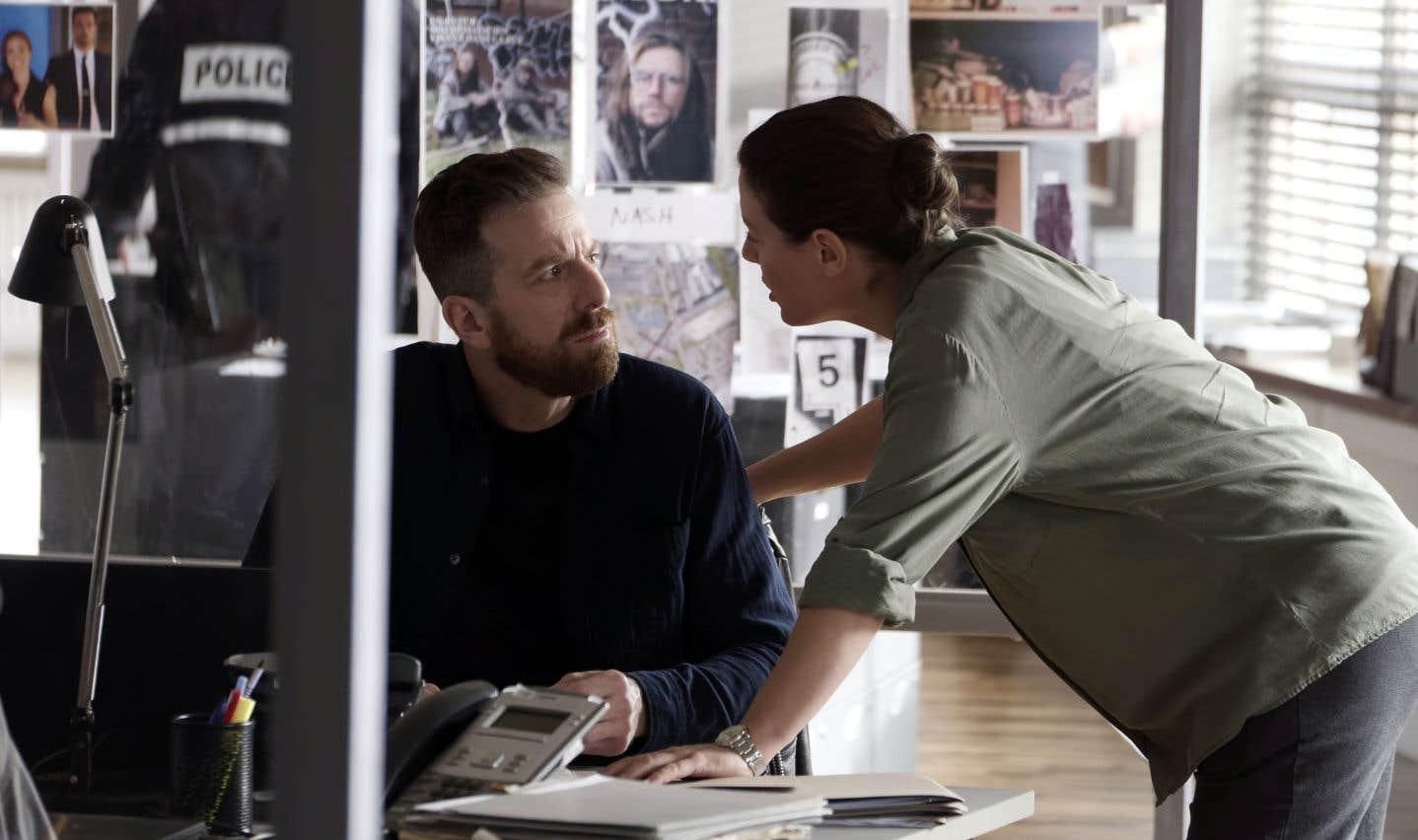 La première saison de la série policière «Victor Lessard»atterrit sur AddikTV.