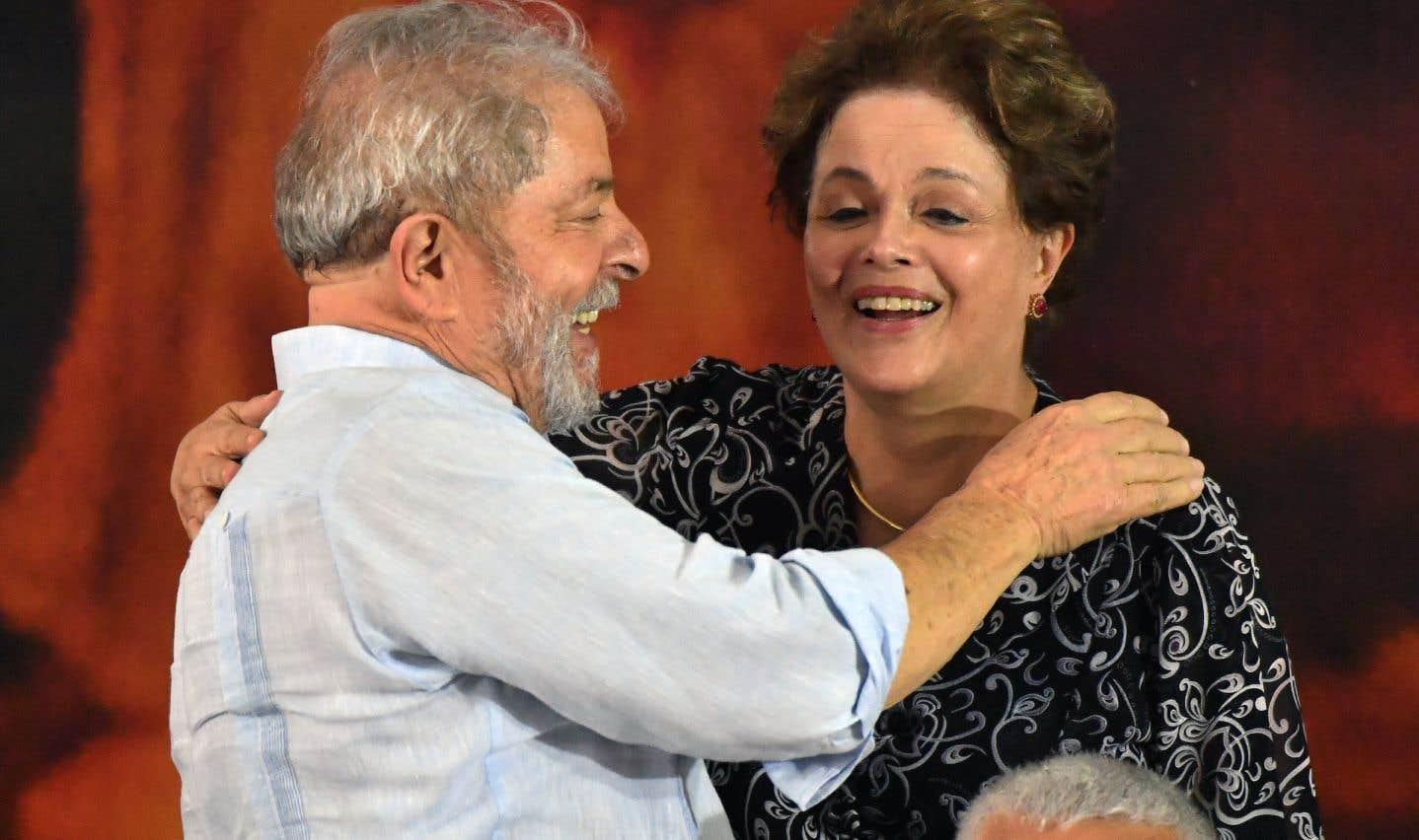 Luiz Inácio Lula da Silva et Dilma Rousseff