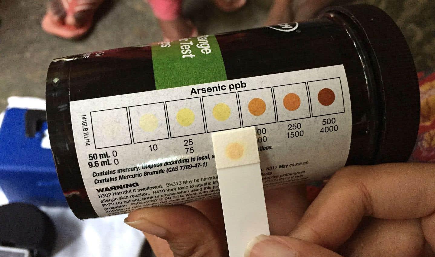 Vingt millions de Bangladais dépendent de puits contaminés par l'arsenic
