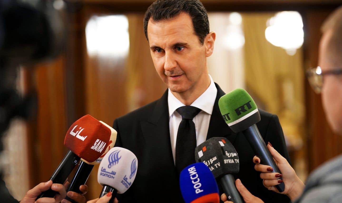 Le président syrien, Bachar al-Assad