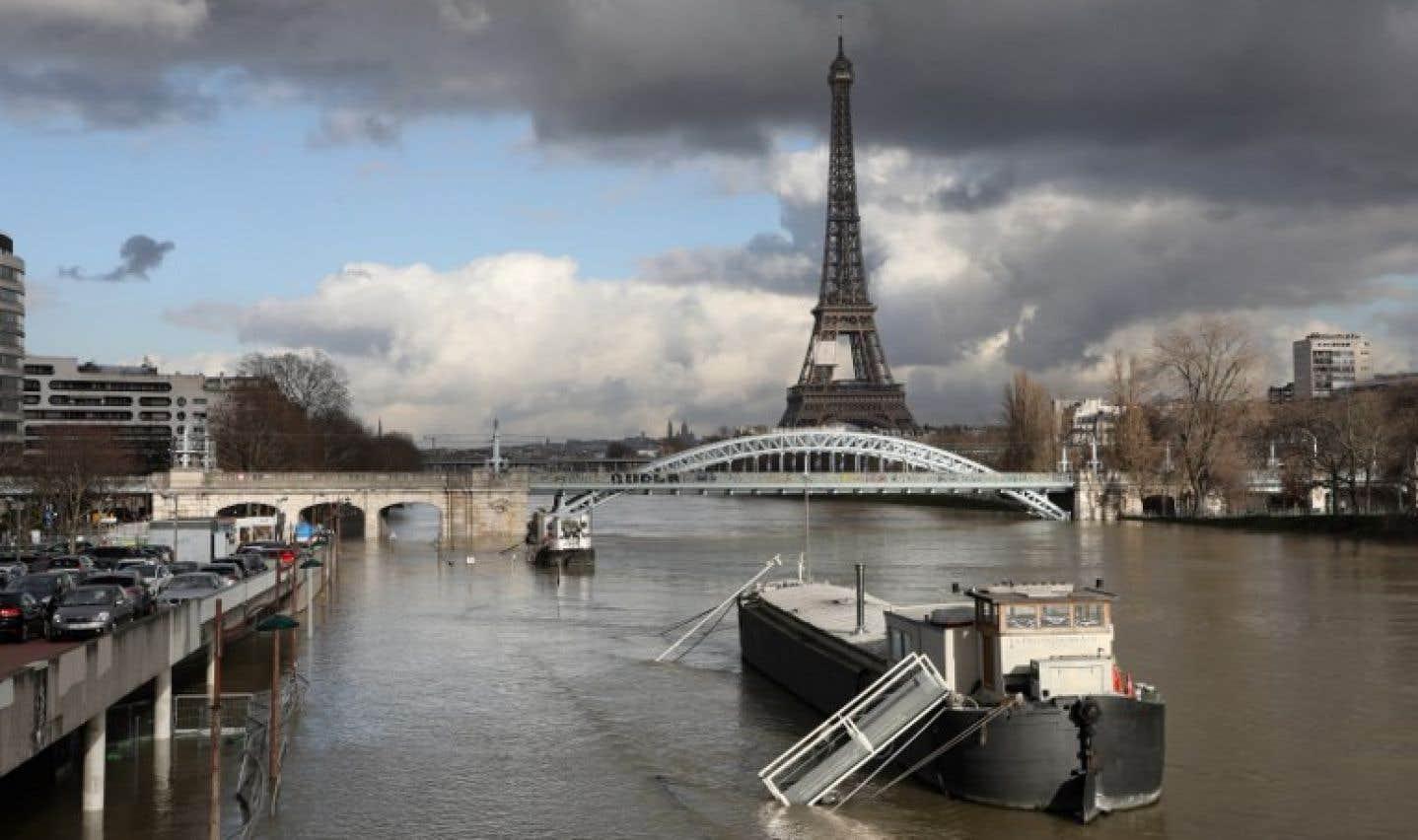 Les prévisionnistes estiment que la Seine ne devrait pas atteindre le pic de 2016.