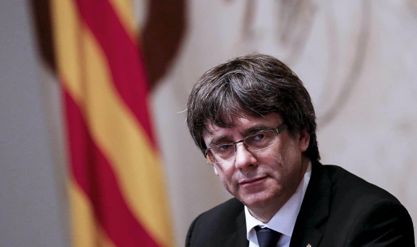 L'indépendantiste Carles Puigdemont est retranché en Belgique.