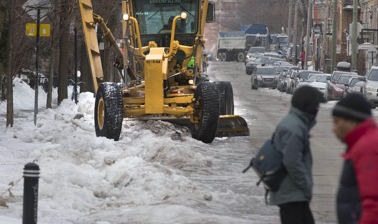 Montréal pourrait revoir sa politique de déneigement