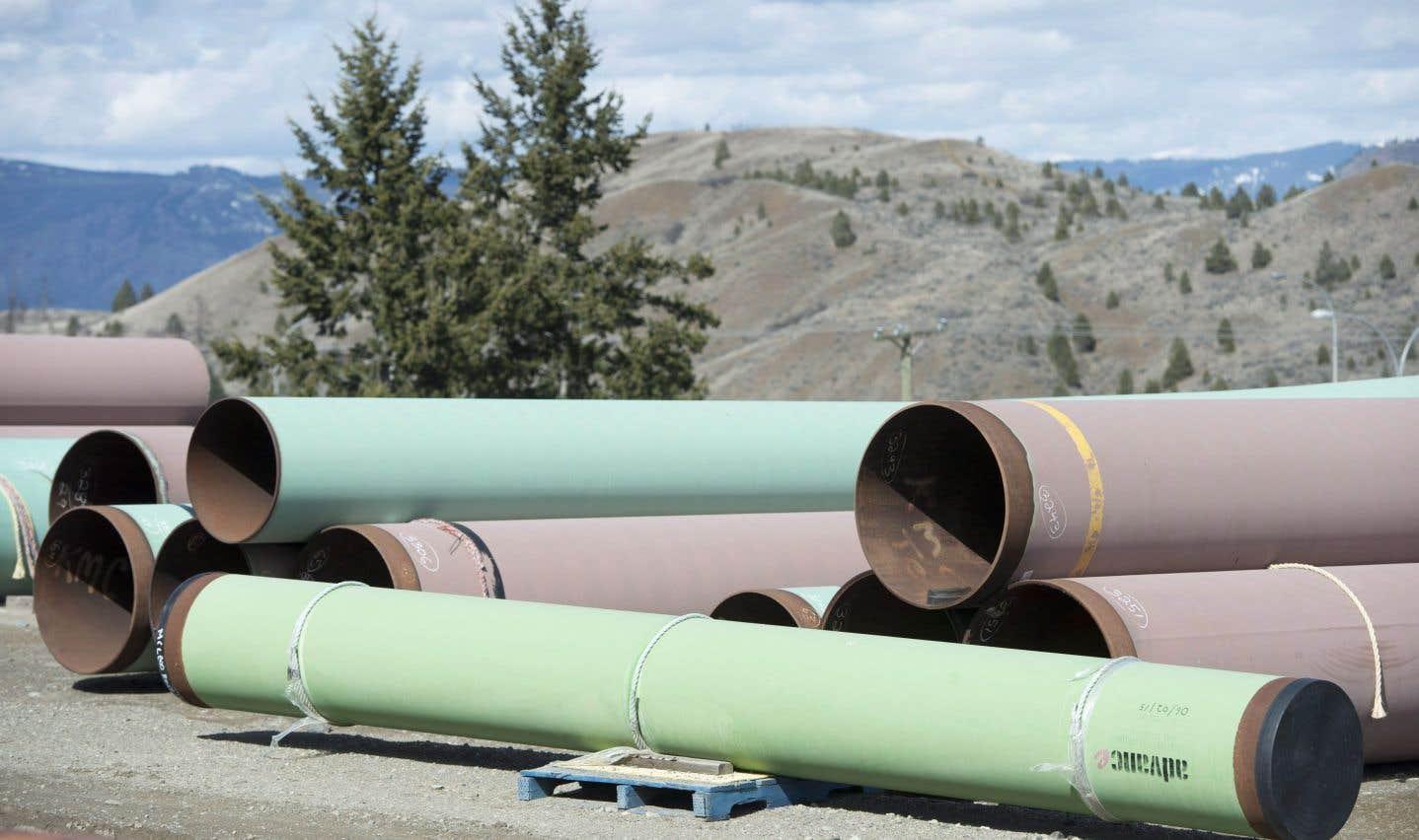 La Colombie-Britannique impose des règles pour bloquer le pipeline Trans Mountain