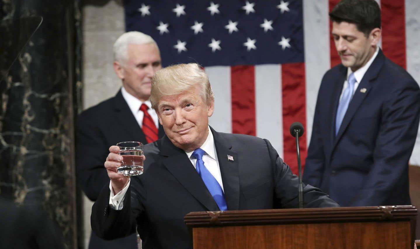Discours sur l'état de l'Union: Trump appelle à l'unité de la nation
