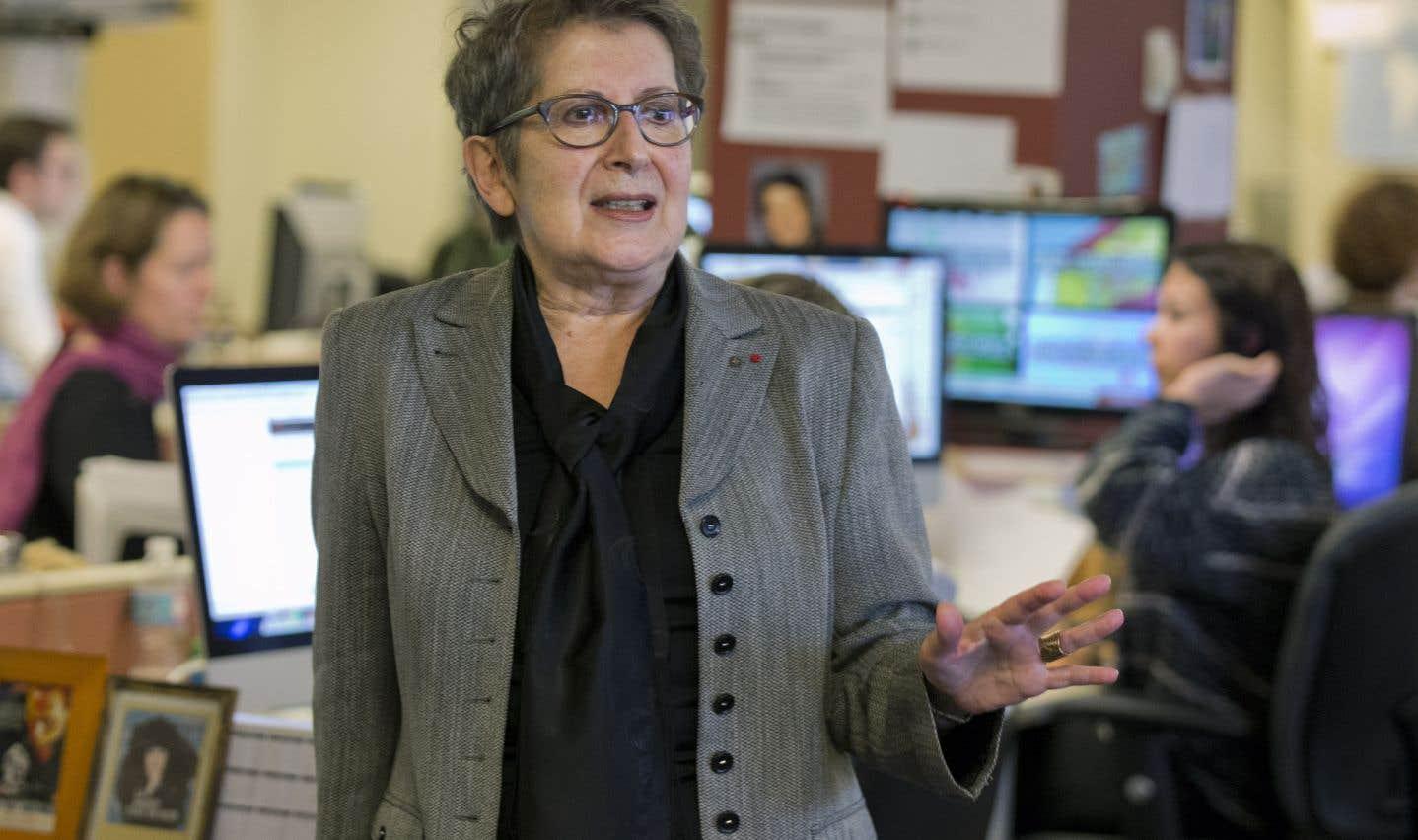 La présidente du CA de l'UQAM, Lise Bissonnette, démissionne