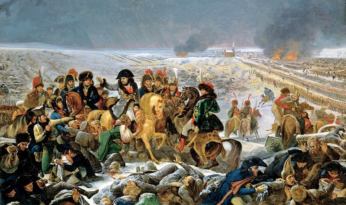 Antoine-Jean Gros (1771-1835), Napoléon sur le champ de bataille d'Eylau, esquisse du tableau du Salon de 1808, 1807, huile sur toile. Toledo Museum of Art, cadeau d'Edward Drummond Libbey.